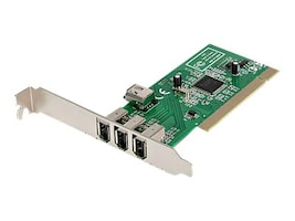 StarTech.com PCI1394MP Main Image from Left-angle