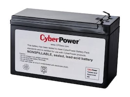 CyberPower Replacement Battery, RB1290X2, 36853136, Batteries - Other