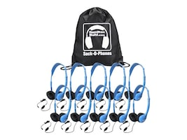 Hamilton MS2AMV Headsets w  Bag (10-pack), SOP-MS2AMV, 35176735, Headphones