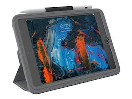 Zagg RUGGED GRAY CASE  W SHOULDER & CASEHAND STRAP & FOR IPAD MINI5, 102003348, 37159998, Carrying Cases - Notebook