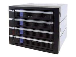 Icy Dock 4 in 3 SATA I II Module, MB454SPF-B, 7341271, Hard Drive Enclosures - Multiple