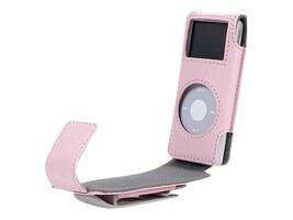 Belkin IPOD NANO FLIP CASE  PINK, F8Z059-PNK, 41122854, Digital Media Player Accessories - iPod