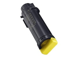 Dell 2500-page Yellow High Yield Toner Cartridge for H625cdw, H82cdw & S2825cdn Printers (593-BBOZ), 3P7C4, 30826997, Toner and Imaging Components - OEM