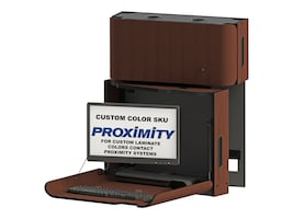 Proximity Classic Self-Disinfecting Wall Station with Monitor Arm, Left Swivel, Custom Color, CXT-6018-9999SD, 34016836, Wall Stations