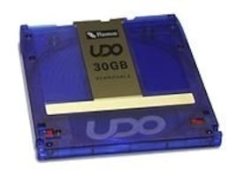 Plasmon 30GB UDO WORM Rewritable Disks w  7 Character Barcode, UDO30RWBARX5, 6988371, Magneto-Optical Cartridges