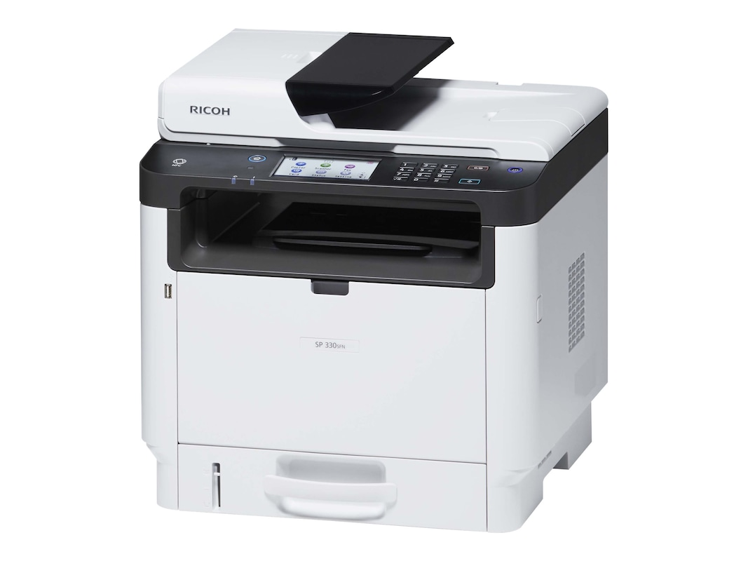 Ricoh SP 330SFN Black & White Laser Multifunction Printer