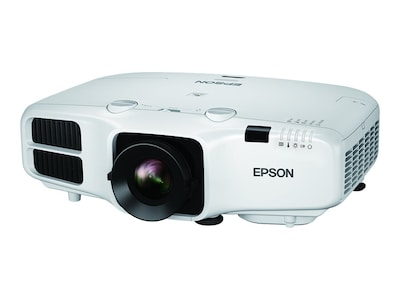 Epson PowerLite 5520W WXGA 3LCD Projector, 5500 Lumens, White, V11H826020, 33566297, Projectors