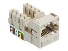 Systimax Cat5e U UTP Information Outlet, Ivory, UNJ500-IV, 30933717, Cable Accessories