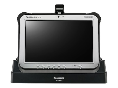 Panasonic Dual-Monitor Desktop Cradle for Toughpad FZ-G1, FZ-VEBG11AU, 17600133, Docking Stations & Port Replicators