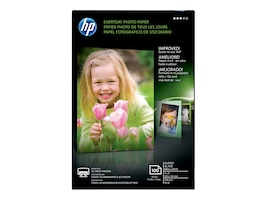 HP 4 x 6 Everyday Glossy Photo Paper (100 Sheets), CR759A, 15136488, Paper, Labels & Other Print Media