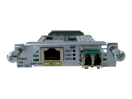 Cisco 1-Port GbE EHWIC, EHWIC-1GE-SFP-CU=, 12815389, Wireless Adapters & NICs