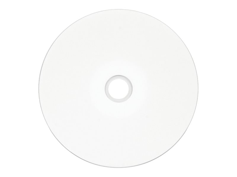 picture regarding Printable Dvd-r named Verbatim 16x 4.7GB White Inkjet Printable DVD-R Media (50-pack Spindle)
