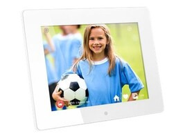 Aluratek 8 WiFi Digital Photo Frame, AWDMPF8BB, 35941871, Digital Picture Frames