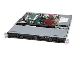 Supermicro CSE-813MTQ-350CB 1U Chassis, 4x3.5 SAS Bays, 350W PSU, CSE-813MTQ-350CB, 11145897, Cases - Systems/Servers