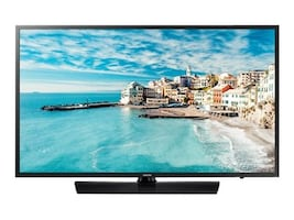 Samsung 43 477 Series Full HD LED-LCD Hospitality TV, Black, HG43NJ477MFXZA, 35878083, Televisions - Commercial