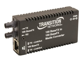 Transition Mini 100BASETX To 100BASEX SFP-NA, M/E-TX-FX-01, 15801222, Network Transceivers