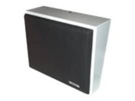 Valcom 8-Inch, 25 70 Volt Amplified Metal Wall Speaker - Gray, V-1052C, 16450655, Speakers - Audio