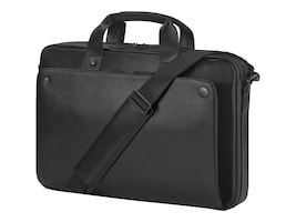 HP 14.1 Executive Slim Top Load Case, Midnight Black, 1WM82UT, 34336451, Carrying Cases - Notebook
