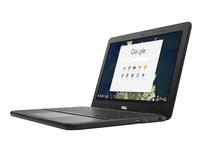 Dell Chromebook 11 5190 Celeron N3350 1.1GHz 4GB 32GB SSD ac BT WC 11.6 HD Chrome OS, TDFVJ, 35181868, Notebooks