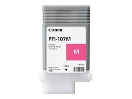 Canon Magenta PFI-107M 130ml Ink Tank, 6707B001, 17673076, Ink Cartridges & Ink Refill Kits