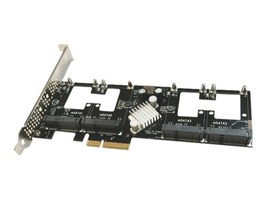 Addonics Quad mSATA PCIe SSD Controller, AD4MSPX2-A, 29153001, Controller Cards & I/O Boards