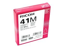 Ricoh Magenta GC41M Print Cartridge, 405763, 13930047, Ink Cartridges & Ink Refill Kits - OEM