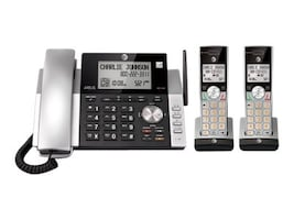 AT&T Corded Cordless ITAD Dual CID ID Handsets, CL84215, 34113249, Telephones - Consumer