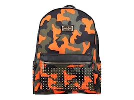 Eco Style Soho Orange Camo Mini Backpack for Laptops up to 13+Tablet, SLSOH-BPOC-13, 36568554, Carrying Cases - Other