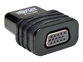 Tripp Lite HDMI to VGA M F Adapter, Black, P131-000, 18227289, Adapters & Port Converters