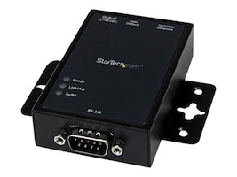 StarTech.com 1 Port RS232 Serial to IP Ethernet Converter   Device Server - Aluminum, NETRS2321P, 16315517, Network Adapters & NICs