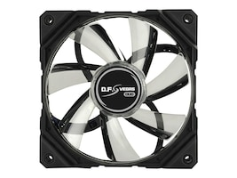 Enermax DF Vegas Duo 12cm LED Fan w Patented DFRTM Dust-free, UCDFVD12P, 33562915, Cooling Systems/Fans