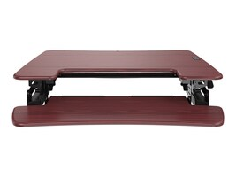 Loctek 36 Sit-Stand Riser, Mahogany, LXR36M, 35703427, Furniture - Miscellaneous