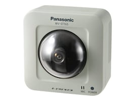 Panasonic 1.3MP Dome Network Camera, Indoor, WVST165, 14667519, Cameras - Security