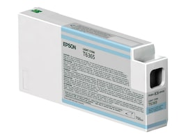 Epson Light Cyan Ultrachrome HDR Ink Cartridge - 700ml for Stylus Pro 7890, 7900, 9890 & 9900 Series, T636500, 12424775, Ink Cartridges & Ink Refill Kits - OEM