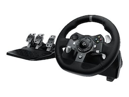 Logitech G920 Driving Wheel for Xbox One and PC, 941-000121, 23203185, Video Gaming Accessories