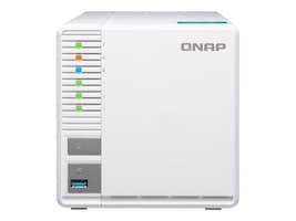 Qnap 3-Bay Cloud ARM QC 1.4G 2GB DDR4 NAS for RAID-5 Storage, TS-328-US, 35387145, Network Attached Storage