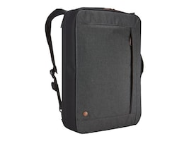 Case Logic 15.6 ERA Convertible Laptop Bag, Obsidian, 3203698, 35077382, Carrying Cases - Notebook