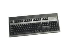 Keytronic Keyboard with PS 2 Cable RoHS (5-Pack) - Black, E03601P25PK, 7306192, Keyboards & Keypads