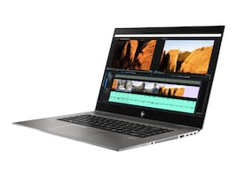 HP ZBook Studio G5 Xeon E-2176M 2.7GHz 16GB 512GB PCIe ac BT FR WC P1000 15.6 FHD W10P64, 4NH78UT#ABA, 35695092, Workstations - Mobile