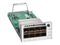 Cisco C9300-NM-8X= Main Image from Right-angle