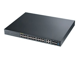 Zyxel 24-port GbE L2 PoE Switch, GS2210-24HP, 17871187, Network Switches