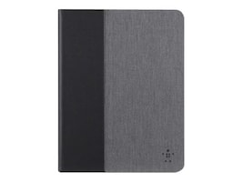 Belkin Chambray Cover for iPad Air Air 2, Dark Gray, F7N263B1C00, 18531934, Carrying Cases - Tablets & eReaders