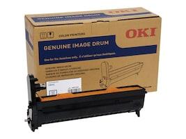 Oki Black Image Drum for C612 Series Printers, 46507304, 33172870, Printer Accessories