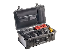 Pelican 1510SC Carry-On Case, Black, 1510-007-110, 33427684, Carrying Cases - Other