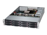 Supermicro SSG-6028R-E1CR12T Main Image from Right-angle