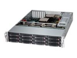 Supermicro Barebones, SuperServer 6028R-E1CR12T 2U RM (2x)E5-2600 v3 Family Max.1TB DDR4 12x3.5 HS Bays 2x920W, SSG-6028R-E1CR12T, 30614249, Barebones Systems