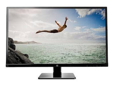 HP 27 27SV Full HD LED-LCD Monitor, Black, M4B77A9#ABA, 34755532, Monitors