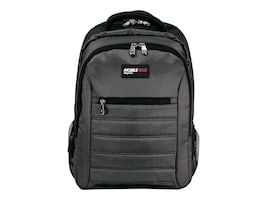 Mobile Edge 16 Smart Backpack, Charcoal, MEBPSP5, 35402190, Carrying Cases - Notebook