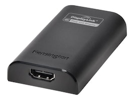 Kensington VU4000 4K USB 3.0 to HDMI Adapter, K33988WW, 23206474, Adapters & Port Converters
