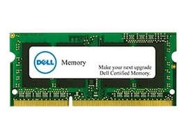 Dell 4GB 204-pin DDR3 SDRAM SODIMM for Select Models, SNPNWMX1C/4G, 16671669, Memory